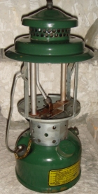Lampe conversion Aladdin 1944
